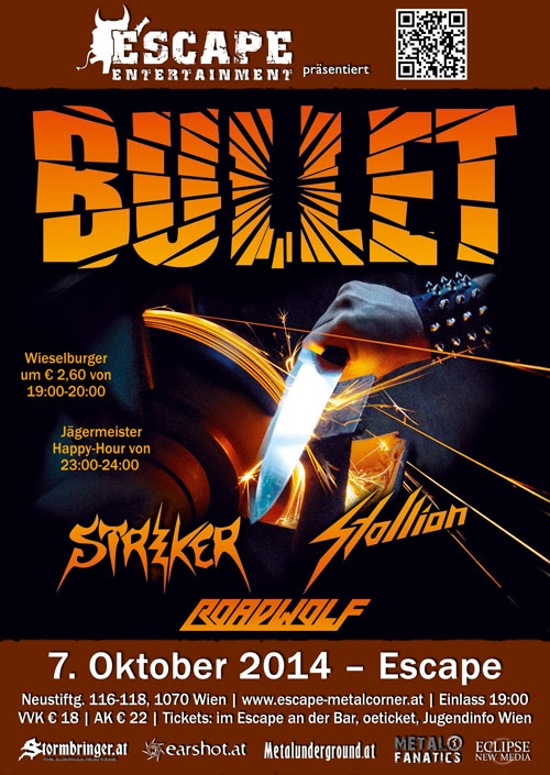 Bullet, Striker, Stallion, Roadwolf