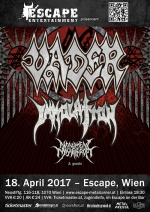 Vader, Immolation, Monument Of Misanthropy & Guests