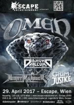 Omen, Diamond Falcon, Nightmarcher, Grim Justice