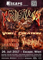 Krisiun, Void Creation, Brewed & Canned, Mandibula