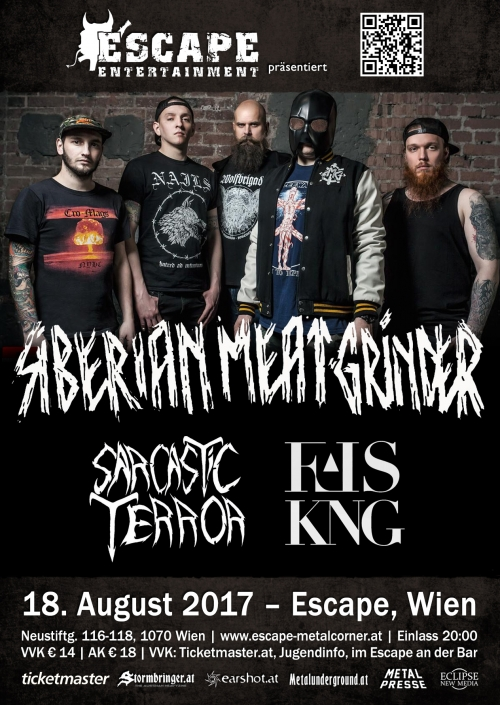 Siberian Meat Grinder, Sarcastic Terror, False King