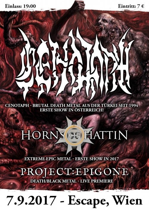 Cenotaph, Horns Of Hattin, Project: Epigone