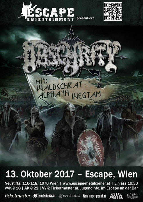 Obscurity, Waldschrat, Alphayn, Wegtam