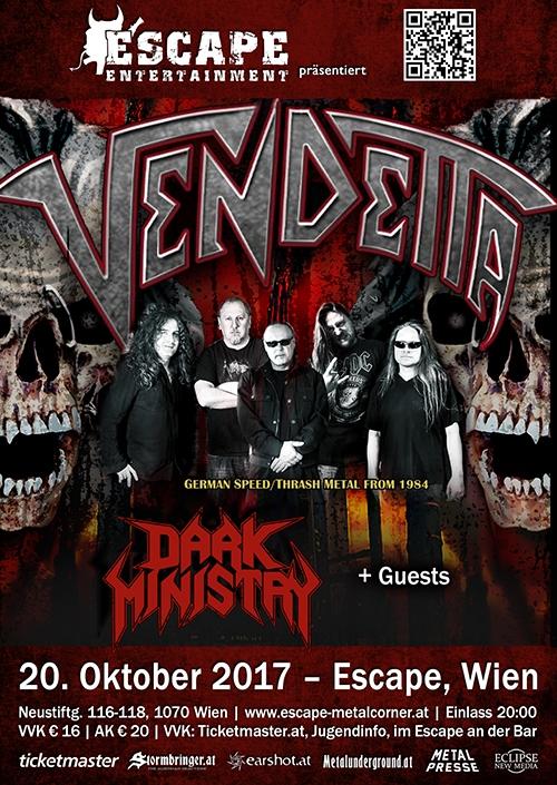 Vendetta, Dark Ministry