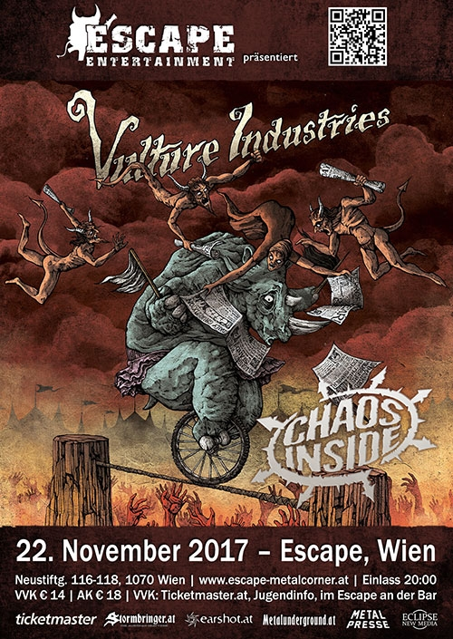 Vulture Industries, Chaos Inside