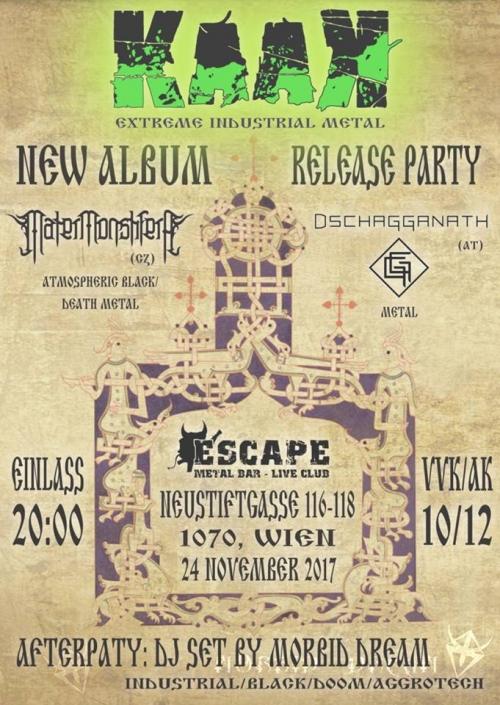 Kaak (CD Release Show), Mater Monstifera, Dschagganath