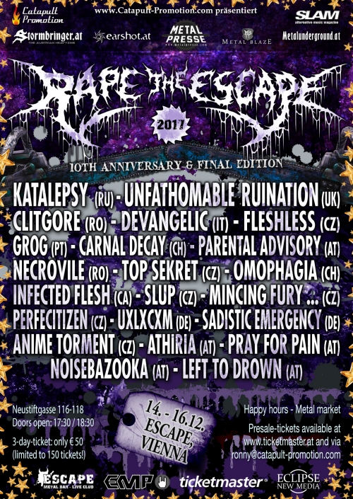 Rape The Escape 2017 - Tag 2