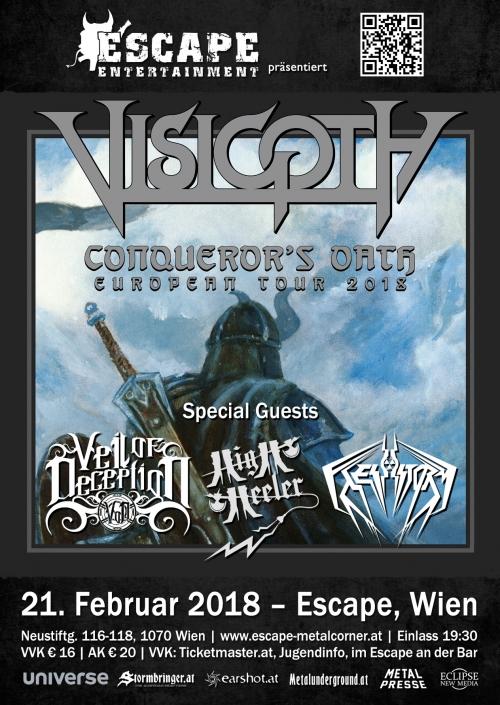Visigoth, Veil Of Deception, High Heeler, Flesh Storm