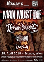 Man Must Die, Dawn Of Disease, Griszmo, Dayum
