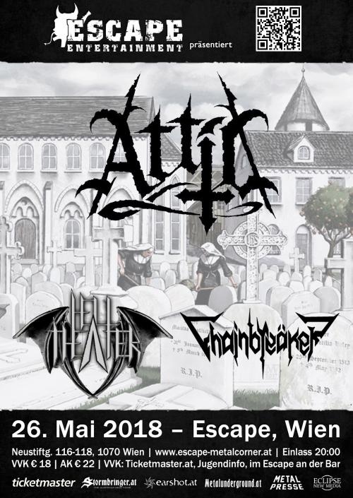 Attic, Hell Theater, Chainbreäker