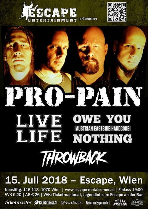 Pro-Pain, Live Life, Owe You Nothing, Throwback