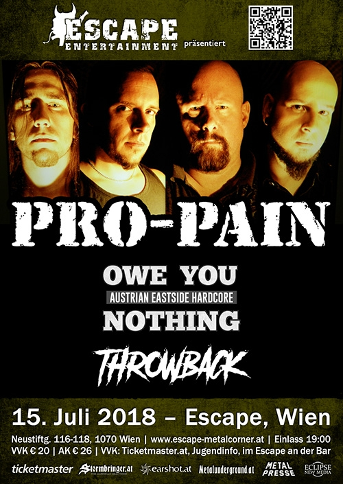 Pro-Pain, Owe You Nothing, Throwback