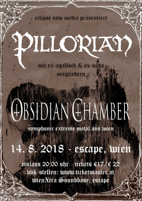 Pillorian, Obsidian Chamber, Brume