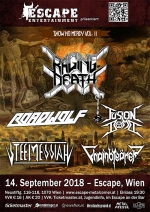 Raging Death, Roadwolf, Fusion Bomb, Steel Messiah, Chainbreaker