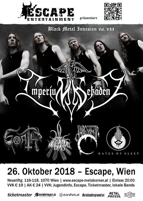 Imperium Dekadenz, Goath, The Negative Bias, Vargsheim, Gates Of Sleep