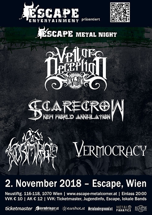 Veil Of Deception, Scarecrow N.W.A., Stormrage, Vermocracy