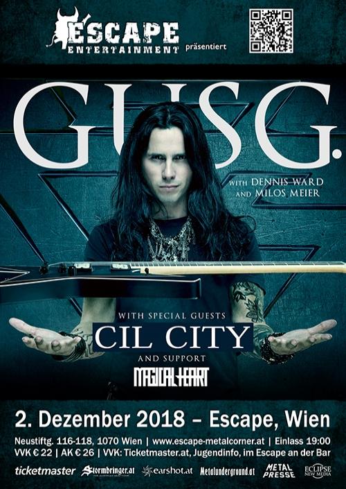 Gus G, Cil City, Magical Heart