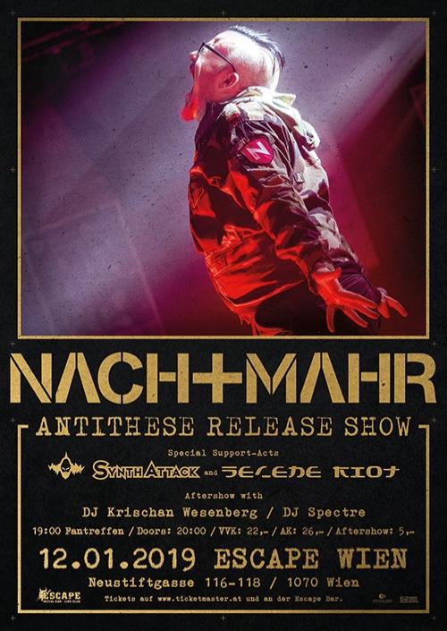 """Ausverkauft - Nachtmahr """"Antithese"""" Release Show"""