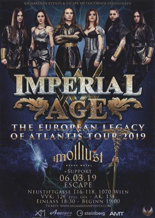 Imperial Age, Metalwings, Molllust, Nightmarcher