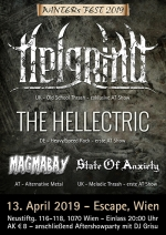 Helgrind, The Hellectric, Magmabay, State Of Anxiety