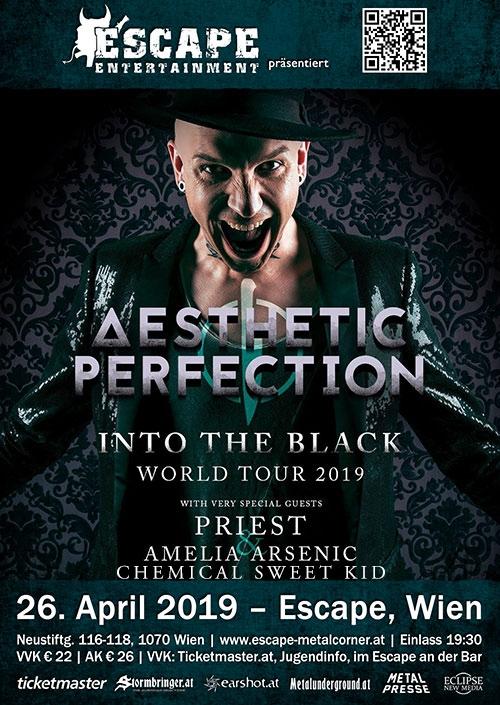 Aesthetic Perfection, Priest, Amelia Arsenic, Chemical Sweet Kid