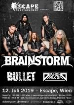 Brainstorm, Bullet, Diamond Falcon