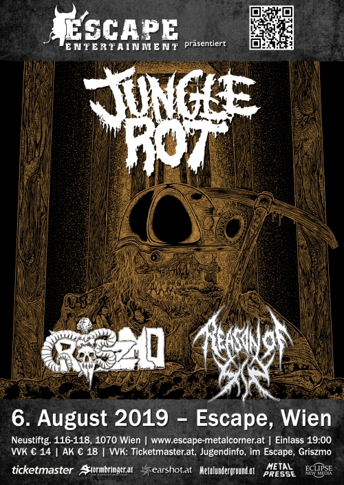 Jungle Rot, Griszmo, Reason Of Sin