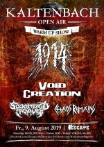 1914, Void Creation, Sodomized Cadaver, Chaos Remains