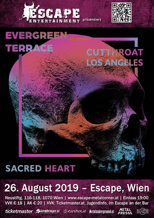 Evergreen Terrace, Cutthroat L.A., Sacred Heart