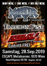 Martyr, Tarchon Fist, Roadwolf