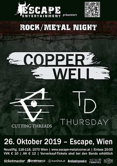 Copperwell, Cutting Threads, Thursday