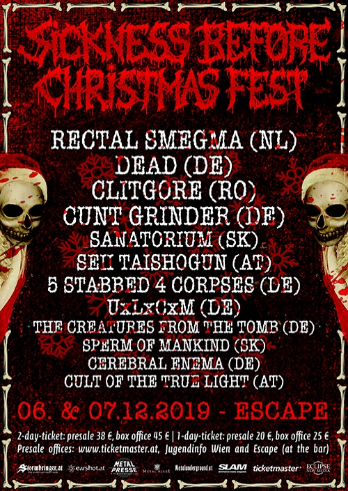Sickness Before Christmas Festival - Tag 2