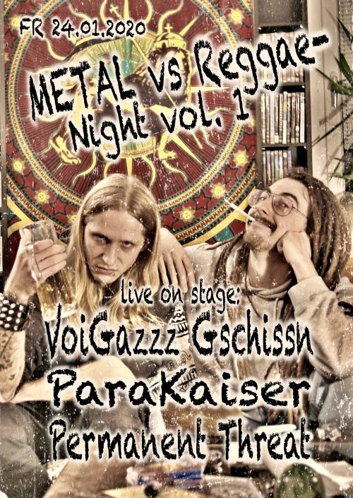 Metal vs. Reggae