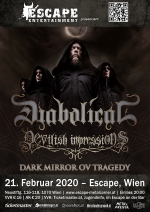 Diabolical, Devilish Impressions, Dark Mirror Ov Tragedy, Black Royal