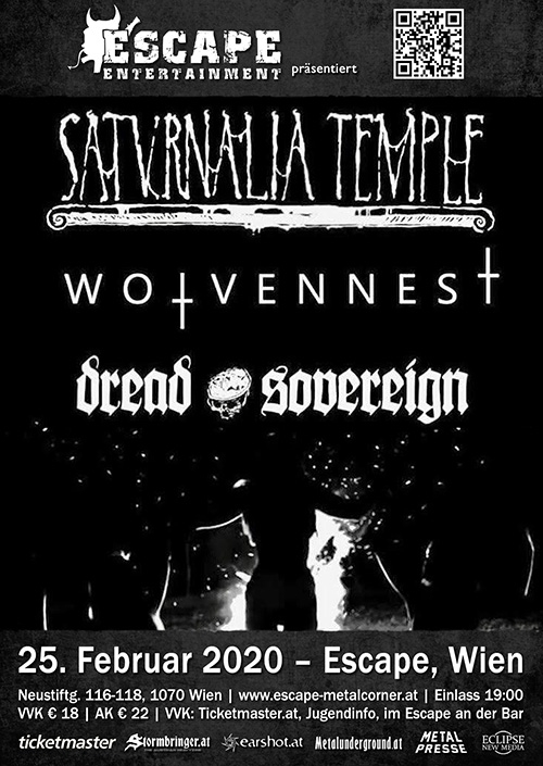 Saturnalia Temple, Wolvennest, Dread Sovereign