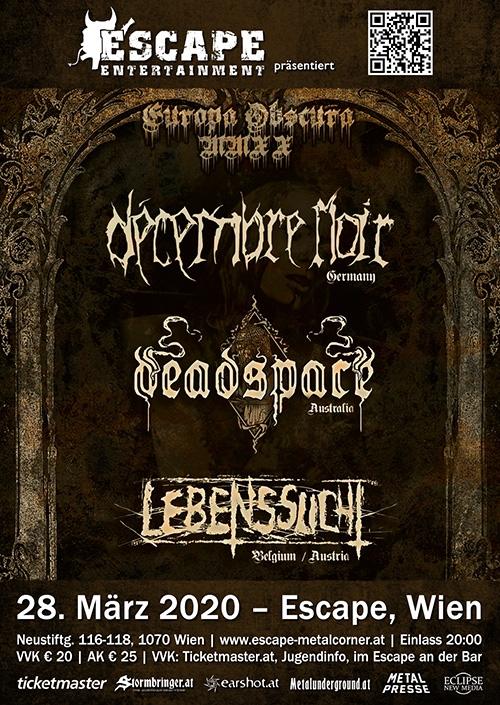 Decembre Noir, Deadspace, Lebenssucht