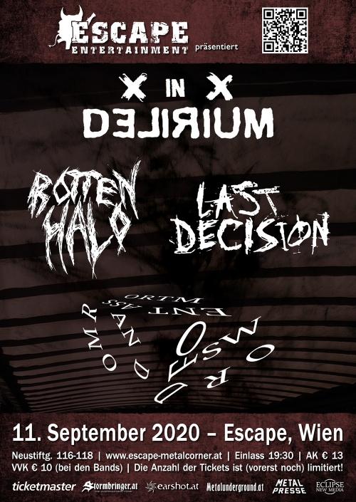 In Delirium, Rotten Halo, Last Decision, Random Assortment Of Words