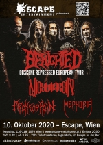 Benighted, Nightmarer, Pray For Pain, Mephobia