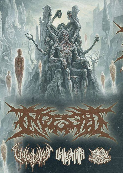 Ingested, Vulvodynia, Vale Of Pnath, Bound In Fear
