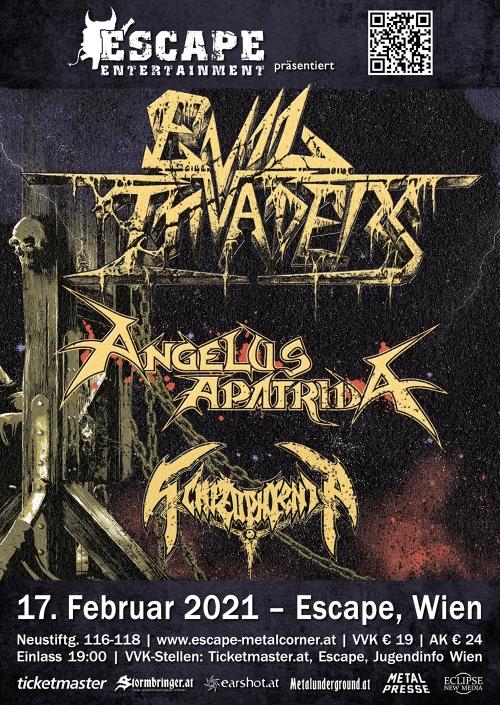 Evil Invaders, Angelus Apatrida, Schizophrenia