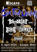 Six Feet Under, Bloodride, Scars, Grimaze, Aleph Naught
