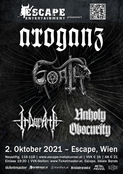 Arroganz, Goath, Irdorath, Klendathu, Unholy Obscurity