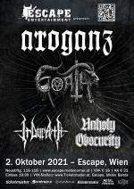 Arroganz, Goath, Irdorath, Unholy Obscurity
