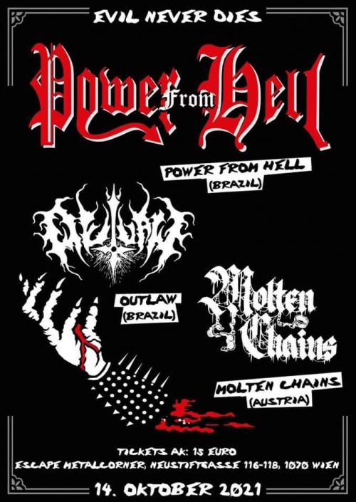 Power From Hell, Outlaw, Molten Chains