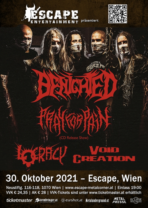 Benighted, Pray For Pain, Locracy, Void Creation
